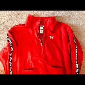 Victoria's Secret 1/4 zip sweatshirt like new